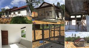Neubau der Babyhäuser