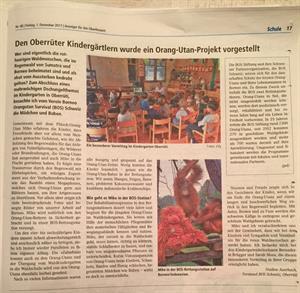 Artikel Lokalzeitung