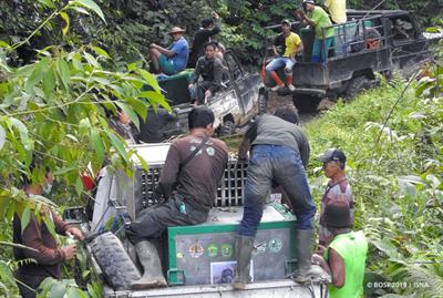 Orang-Utan-Auswilderung: Auf dem Weg von Pelangsiran zum Camp Lesik
