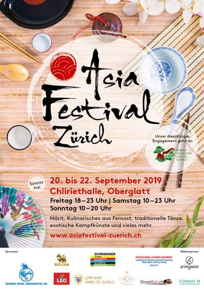 Asia Festival in Bern und Zürich - Besuchen Sie uns an unserem Stand