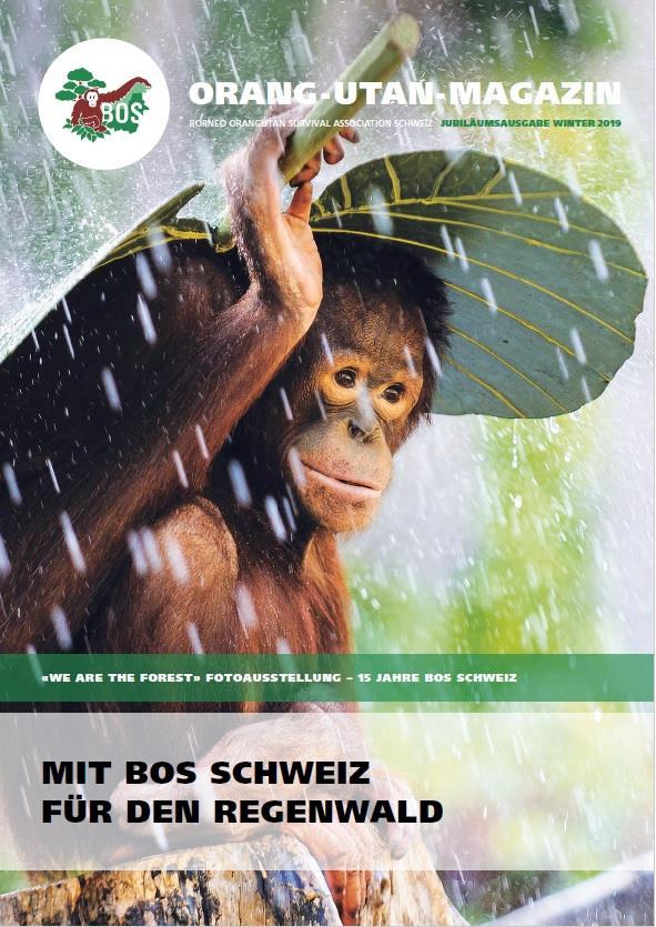 Orang-Utan-Magazin Winterausgabe