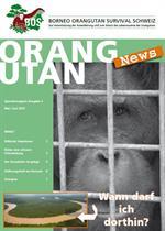 Orang-Utan-News Ausgabe Mai/Juni 2015