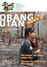 Orang-Utan-News Ausgabe 10/11 2016