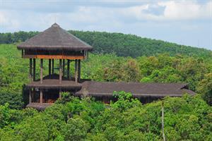Samboja Lodge - Schlafen im Regenwald