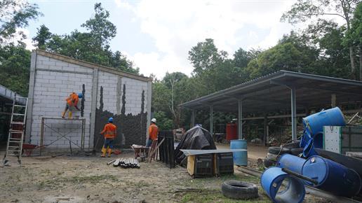 Solarpanel Installation