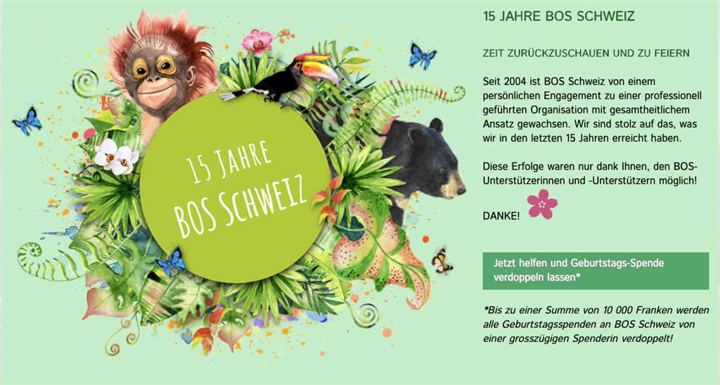 15 Jahre BOS Schweiz - Fotoausstellung