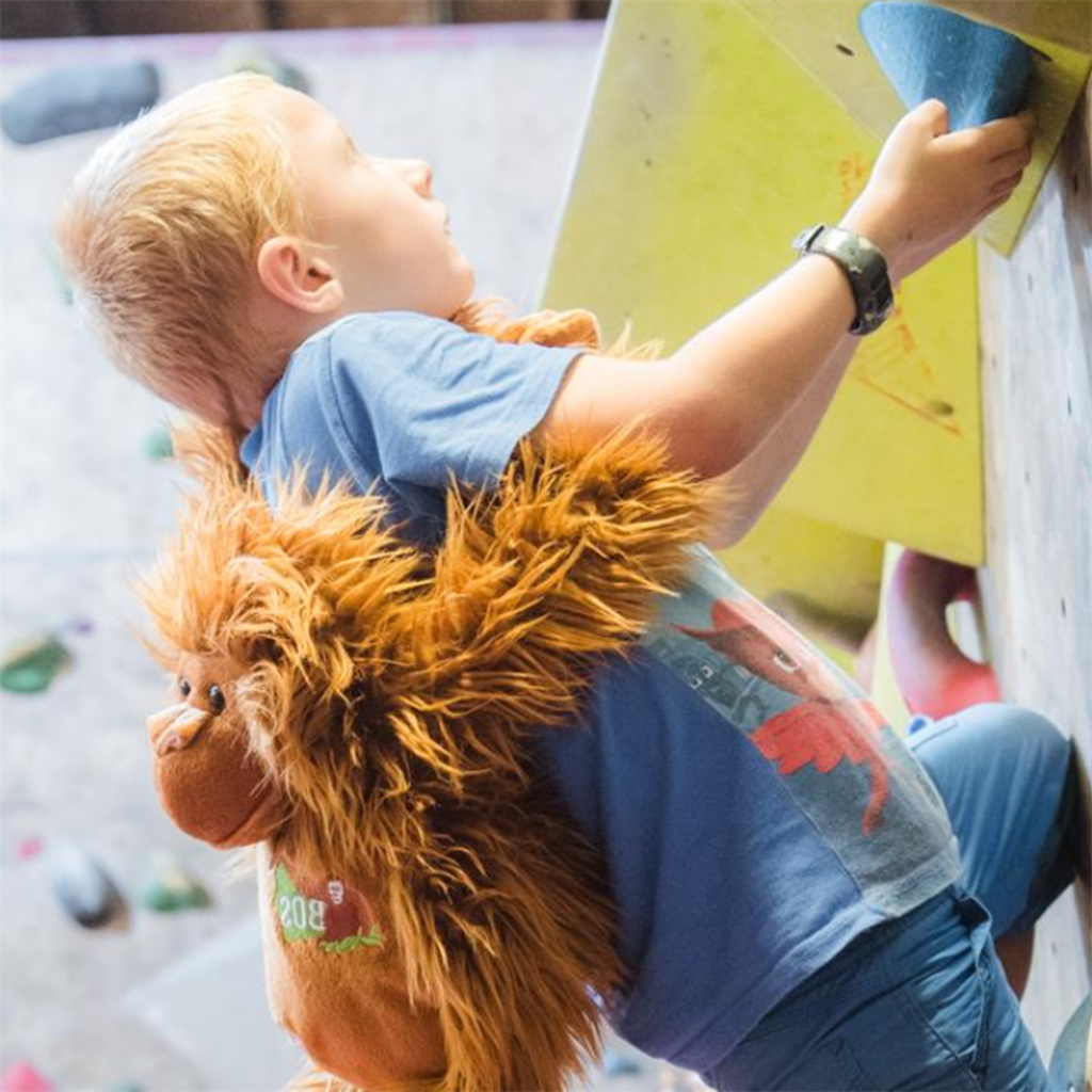 Kletterworkshop für Kinder