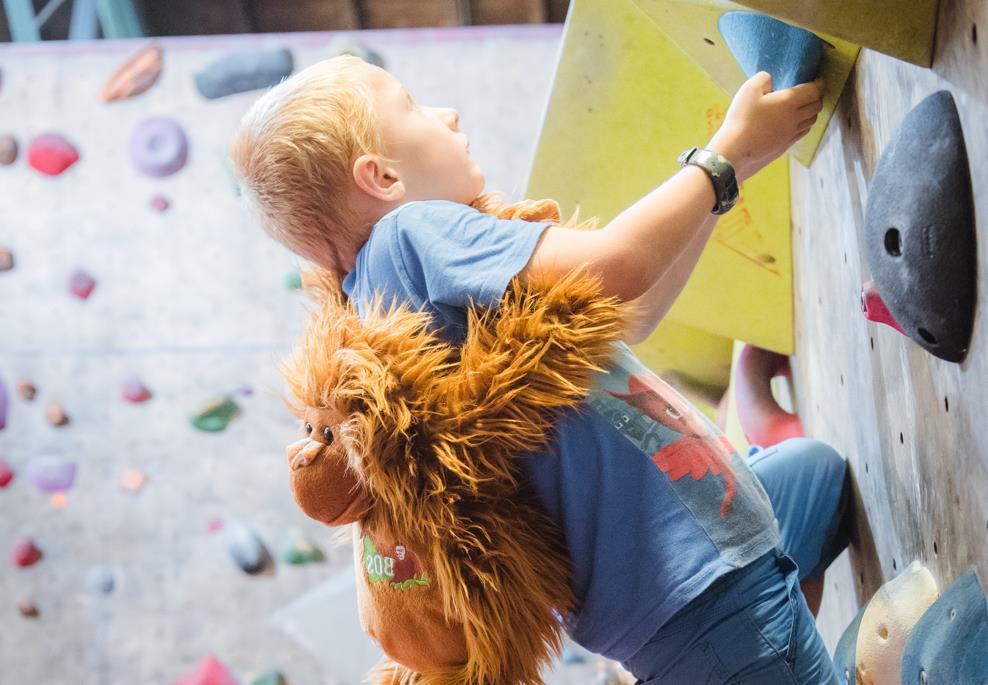 Kletterworkshop für Kinder